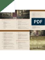 Programa del 2do. Congreso Internacional de Drecho Parlamentario