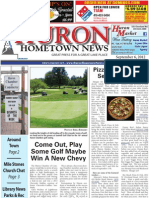 Huron Hometown News - September 6, 2012