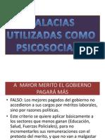 FALACIAS PSICOSOCIALES