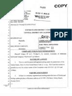 Eclipse IP v. Kellwood Company