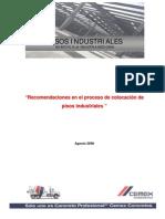 Recomendaciones en El Proceso Constructivo de Pisos Industriales Cemex