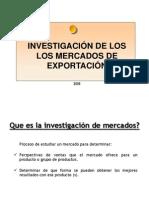 Investigación de Mercados de Exportación