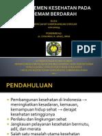 Manajemen Kesehatan DBD