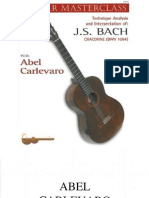 Carlevaro, Abel 'Masterclass' - Vol (Bach, Chaconne)