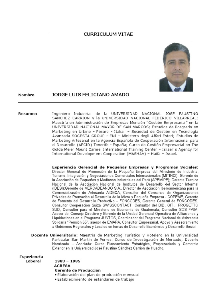 Cv Jfeliciano
