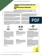 Papeleta Plebiscito de Status de Puerto Rico 2012
