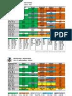 2012 Bell Schedule