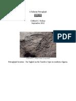 A Saharan Petroglyph