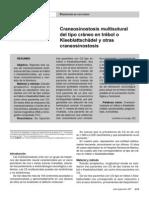 Craneosinostosis Multisutural del tipo Cráneo en Trébol