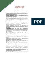 GLOSARIO DE METODOLOGÍA DE INVESTIGACIÓN