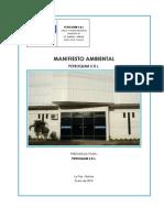 Manifiesto Ambiental Petroquimica
