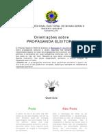 Propaganda Eleitoral - Pode x Nao Pode(1)
