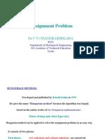 Assignment Problem PDF