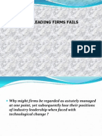 Why Firms Fails