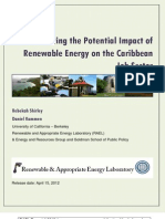 RAEL, Estimating the Potential Impact of Renewable Energy on the Caribbean Job Sector, 4-2012