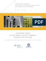 ICSU/CONACYT, Sustainable Energy in Latin America and the Caribbean