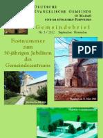 Gemeindebrief Herbst 2012