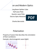 Polarization and Modern Optics