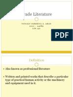 Trade Literature