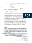 12-09-08 Repeat Request for Bank of Israel´s designated Complaint Number, in re