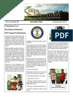 RCBKS Bulletin Vol 21 No 9