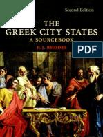 P. J. RHODES - The Greek City States [a Sourcebook]