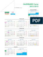 Calendario 2012 2013 Def