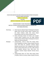 1. Permenpan No 16 Th 2009 Tentang Jab Fungsi Guru Angka Kred