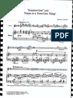 Gershwin-Heifetz 4 Pieces From Porgy & Bess(Violin&Piano)
