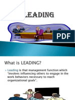 Engineering Management - 8. LEADING