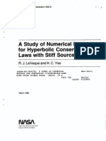 A Study of Numerical Methods for Hyperbolic Conservation Laws with Stiff Source Terms