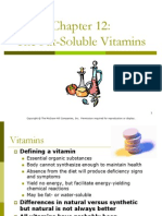 12 Fat Soluble Vitamins