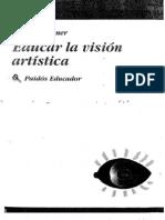 Educar la visión artística. Elliot W. Eisner