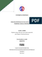 Lanin (2012) Strategi Peningkatan Kualitas Ilmiah Wikipedia Bahasa Indonesia