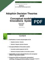 Adoption Theories