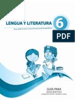Guia Lengua Sexto Ano