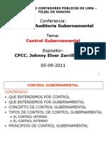 Control Gubernamental Por JZR (Dictado en El CCPL) Sin Caso Practico