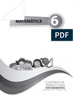 Cuaderno Matematica Sexto Ano