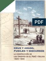 Garcia Jordan, Pilar, Cruz y Arado, Fusiles y Discursos