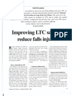 Improving LTC Safety to Reduce Falls Injuries