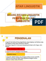 Pengantar Linguistik