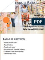 Innvation in Retail Industry