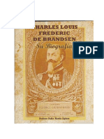 Charles Louis Frederic de Brandsen - His Biography
