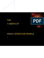 Seven Habits Highly Effective People