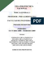 PROBLEMAS DE FÍSICA GENERAL I