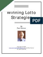 Winning Lotto Strategies Pdf18 2006