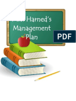 Mrs. Harned's Classroom Management Plan