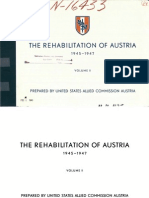 Austria Rehabilitation Plan II (1945)