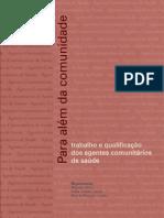 lIVRO PARA ALÉM DA COMUNIDADE