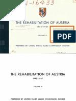Austria Rehabilitation Plan III (1945)